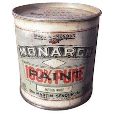 c1910s Tin Advertising Bank for Martin Senour Paints