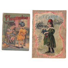 Pair Children's Books w/Color Plates, from 1896 and c1910s