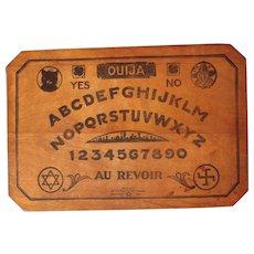 1920 Wooden Ouija Game Board