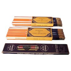 Lot 3 c1930s Pencil Advertising Pencils and Boxes