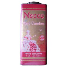 c1920 Advertising Tin for Necco Hard Candies