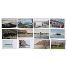 """Lot 83 c1910 Postcards of """"M, N, O"""" Towns (No Old Orchard) in Maine"""