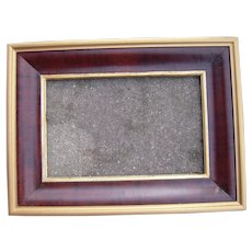 "Large Unusual 1840s/1850s Ogee Picture Frame 11"" x 18"""