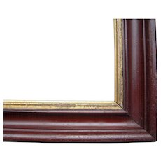 "Victorian Era Faux Grained Picture Frame 9"" x 13"""