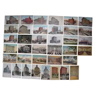 Lot 37 Railroad Stations Postcards Mainly c1900s/1910s, PA and Misc. States