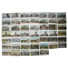 Lot 47 Railroad Stations Postcards c1900s/1910s, New England States