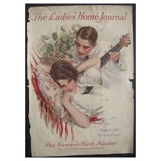 Harrison Fisher Cover Ladies Home Journal August 1913
