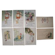 Lot 8 1910s/1920s Rose O'Neill Kewpies Postcards