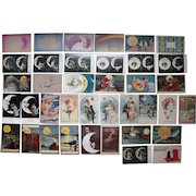 Lot 38 Man in the Moon Postcards c1900s/1910s