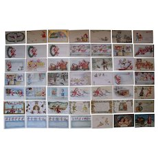 Lot 49 Christmas Postcards 1900s/1910s #2
