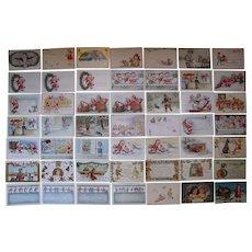 Lot 49 Christmas Postcards 1900s/1910s #2