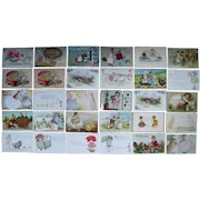 Lot 30 Easter Postcards 1900s/1910s #1