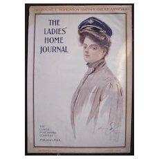 Harrison Fisher Cover Ladies Home Journal September 1905