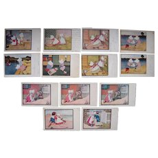 Lot 13 Sunbonnet  Postcards c1905/c1906