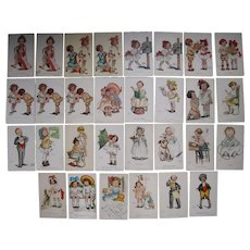 Lot 30 Katherine Gassaway Artist Signed Postcards 1906