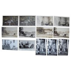 Lot 13 Calvin Coolidge Postcards (incl 8 RPPC) c1920s