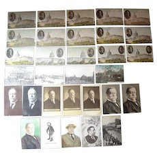 Lot 21 Postcards of President William Taft, 1908/1909