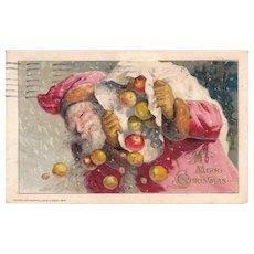 1913 Winsch Santa Claus Postcard