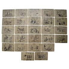 """Lot 27 1940s/1950s Artist Signed Comic Western Postcards """"Out Our Way"""""""