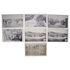 Lot 7 Mexican War Postcards c1910s