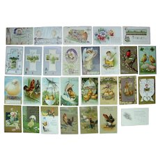 Lot 28 Easter Postcards 1900s/1910s #3
