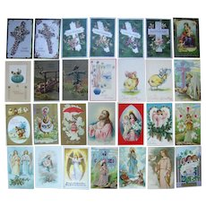 Lot 28 Easter Postcards 1900s/1910s #4