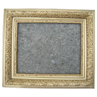 "Deep Ornate Gold Victorian Picture Frame 16"" x 20"""
