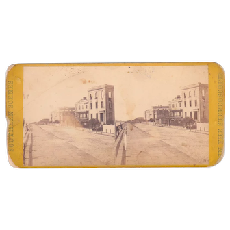 E & HT Anthony Civil War Stereoview of Charleston, SC