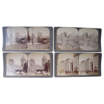 Lot 27 Stereoviews of 1906 San Francisco Earthquake by Underwood and Underwood