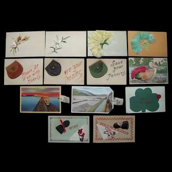 Lot 13 Misc Horizontal Add On Postcards c1910 #2