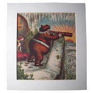 c1890s Color Santa Lithograph from Children's Book #15