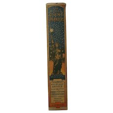 c1910s/c1920s July 4th Sparkler Advertising Box