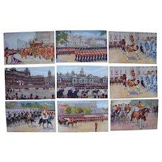 Lot 9 British Royalty Postcards, c1910s/c1920s