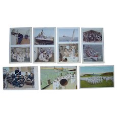 Lot 7 US Navy and Marines Postcards, WWI or Earlier