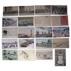 Lot 20 WWI Postcards #1