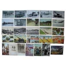 Lot 27 WWII Postcards