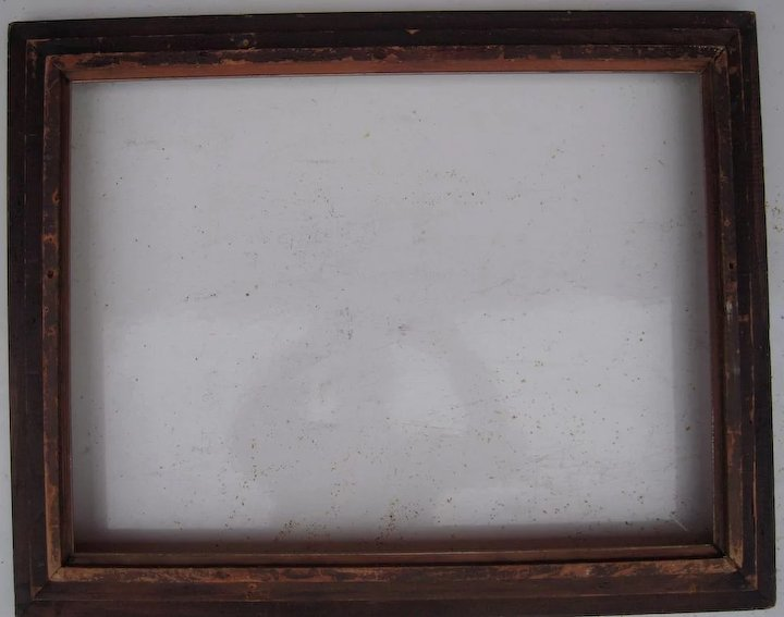 C1900 Faux Finish Picture Frame 15 X 20 Sold Ruby Lane