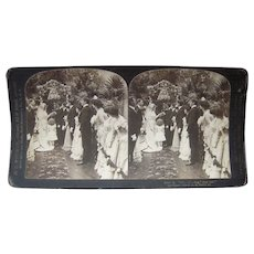 Complete Set of 10 Marriage Ceremony Stereoviews