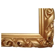 """Ornate Gold Victorian Picture Frame 7"""" x 10"""""""
