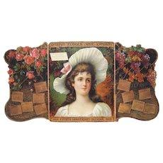 1903 Advertising Calendar Boston Rubber Shoe Co