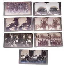 Lot 7 Teddy Roosevelt Stereoviews