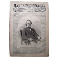 Harpers Weekly May 13, 1865 Lincoln Funeral/Booth's Capture
