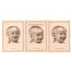 Advertising Victorian Trade Card The Laughing Pets