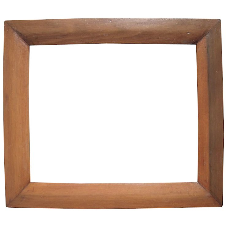 C1840 Poplar Ogee Picture Frame 13 X 16 Sold Ruby Lane