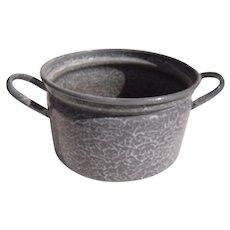 Vintage Enamelware Pot