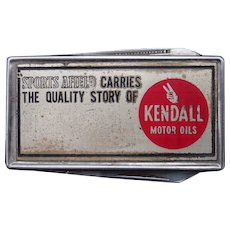 Vintage Kendall Motor Oil Advertising Pocket Knife