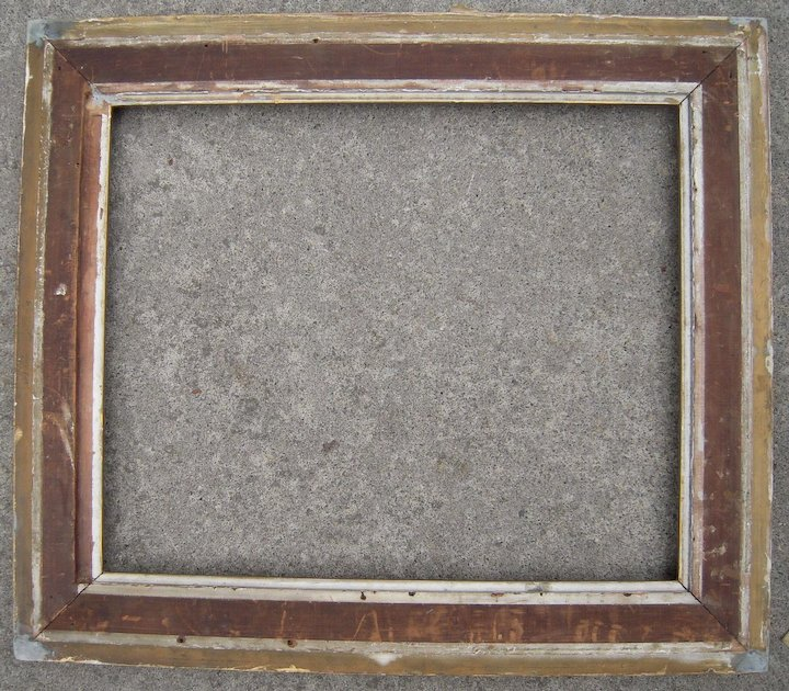 Large Ornate Gold Victorian Picture Frame 20\