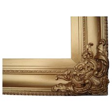 "Large Ornate Gold Victorian Picture Frame 20"" x 25"" - Red Tag Sale Item"