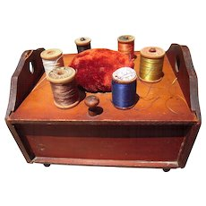 c1900s Spool Holder Box