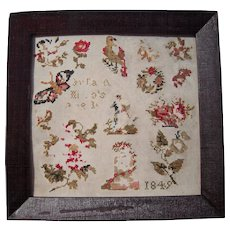1849 Framed Mini Sampler